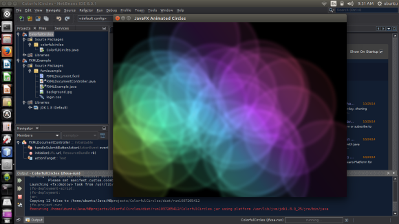 Netbeans 8.0.1 transferred to Ubuntu 14.10