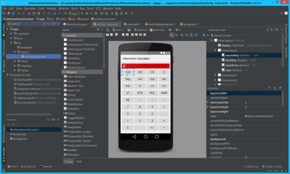 Android Studio 1.2.1.1 on Windows 8.1