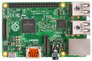 """Raspberry Pi 2 Model B v1.1"" by Multicherry. Licensed under CC BY-SA 4.0"