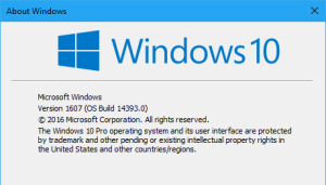 Windows10Version