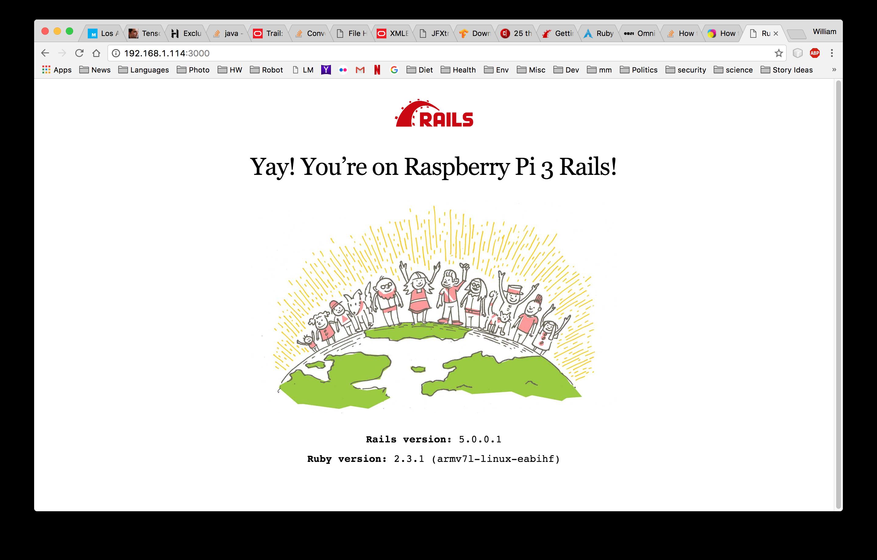install ruby on rails rhel 7