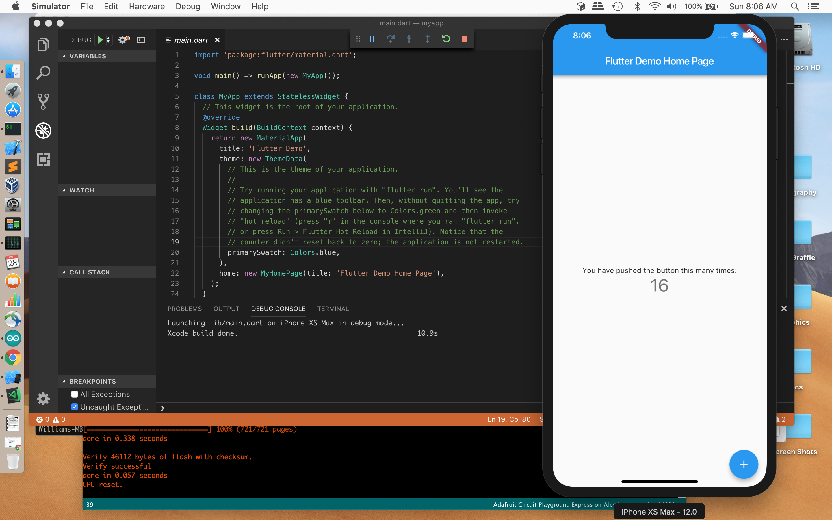 getting started with flutter on macos mojave, part 2 – Arcane